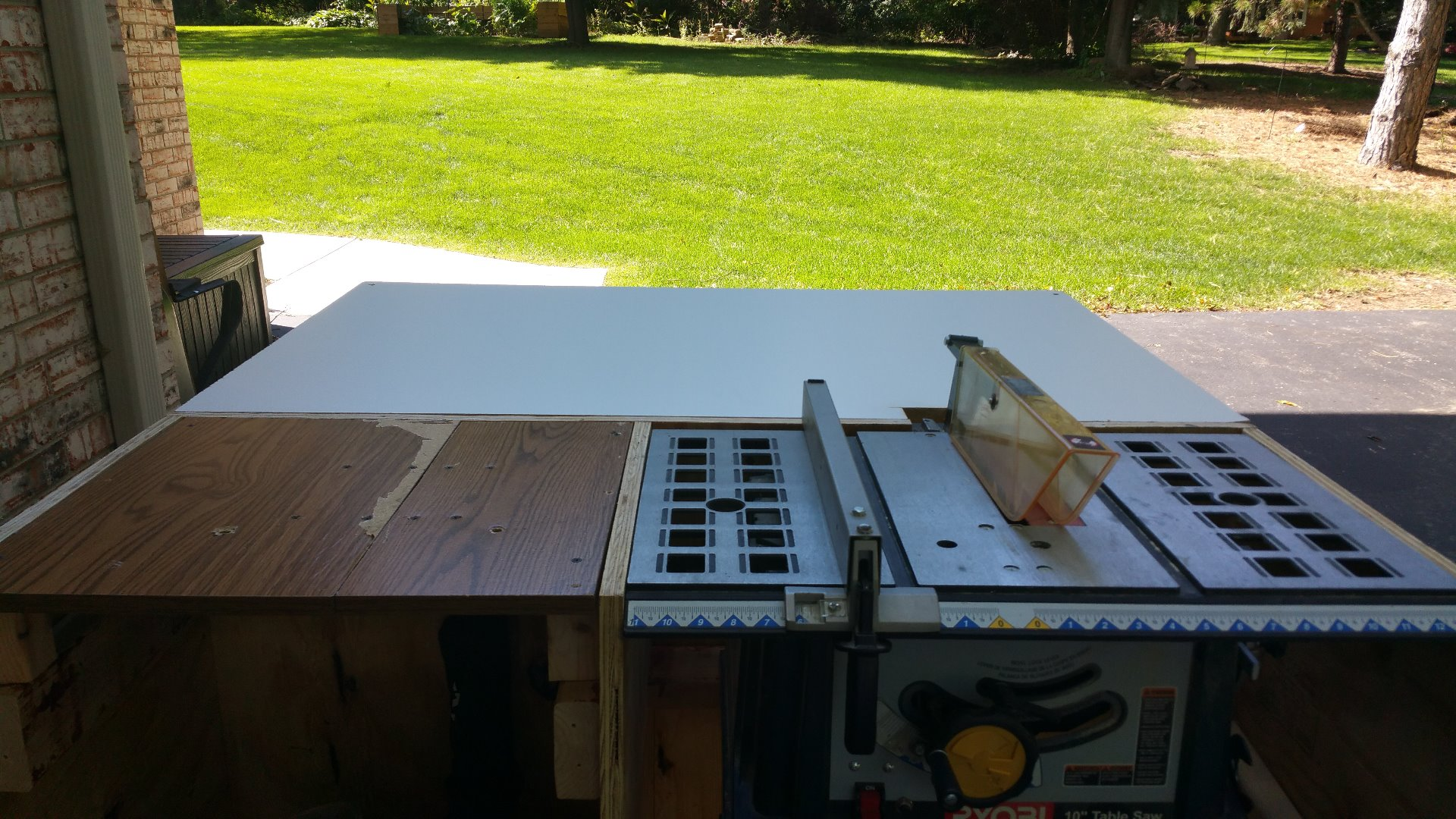 Picture of Using the Table Saw