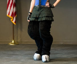 "Realistic Digitigrade ""Backwards"" Costume Animal Legs"