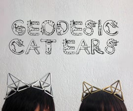 Geodesic Cat Ears Jewelry Accessory