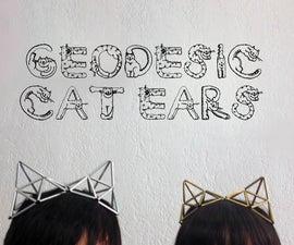 Geodesic Cat Ears Jewelry Accessory