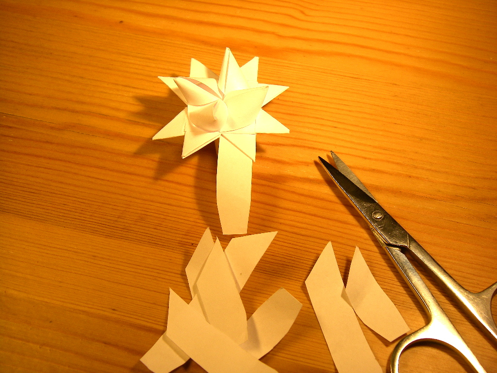 Picture of Trimming Off Excess Paper