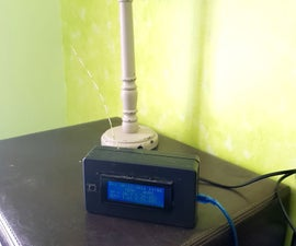 Bedside 20x4 LCD / RF 433MHz Clock & Weather monitor with Arduino