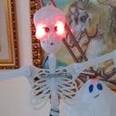 Halloween Arduino skeleton