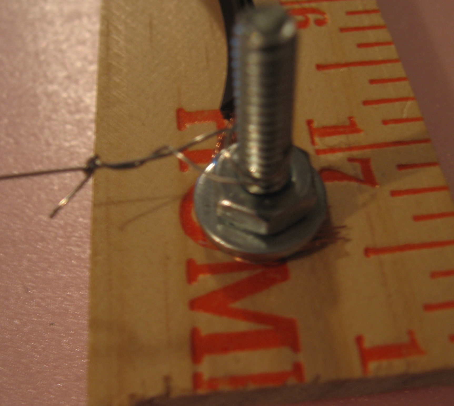 Picture of Attaching the Hot Wire