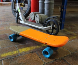3D printed skateboard - box by dagoma