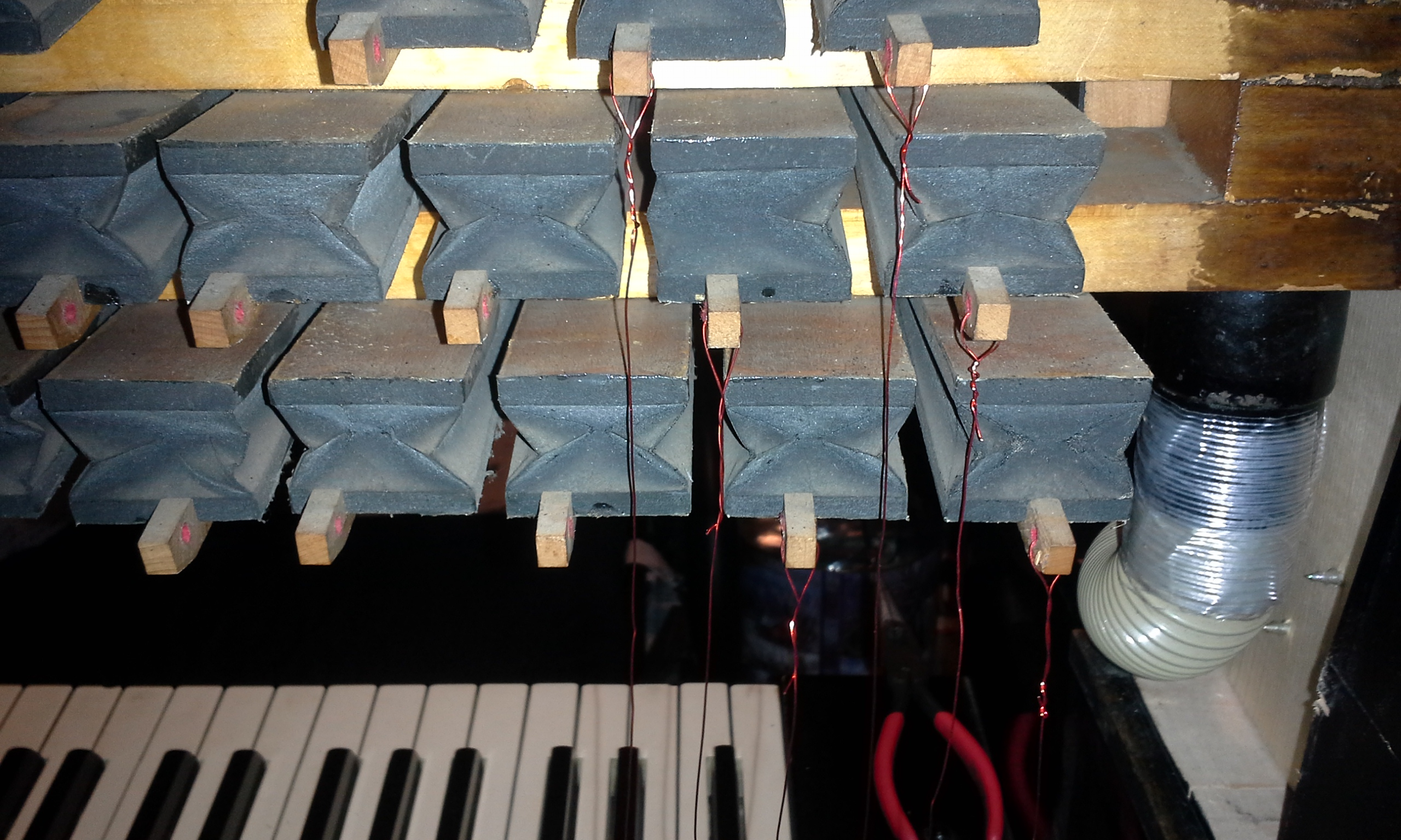 Picture of Homemade player piano