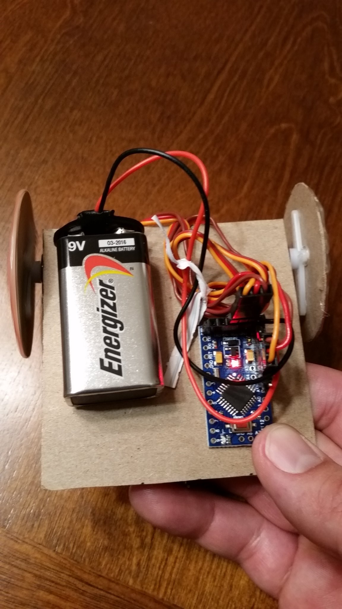 Picture of Wire Up the Robot