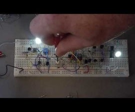 Alternating Analog LED Fader With Linear Brightness Curve
