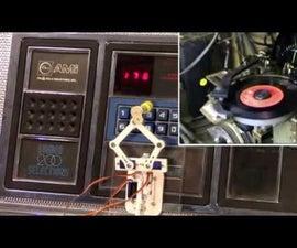 PlotClock, WeMos and Blynk Playing Vintage AMI Jukebox