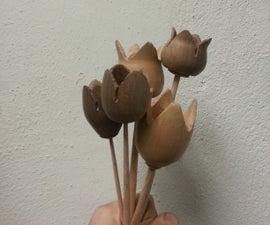 Turned Tulip Bouquet