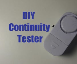 DIY  Continuity Tester