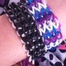 Triple Single Rainbowloom Bracelet