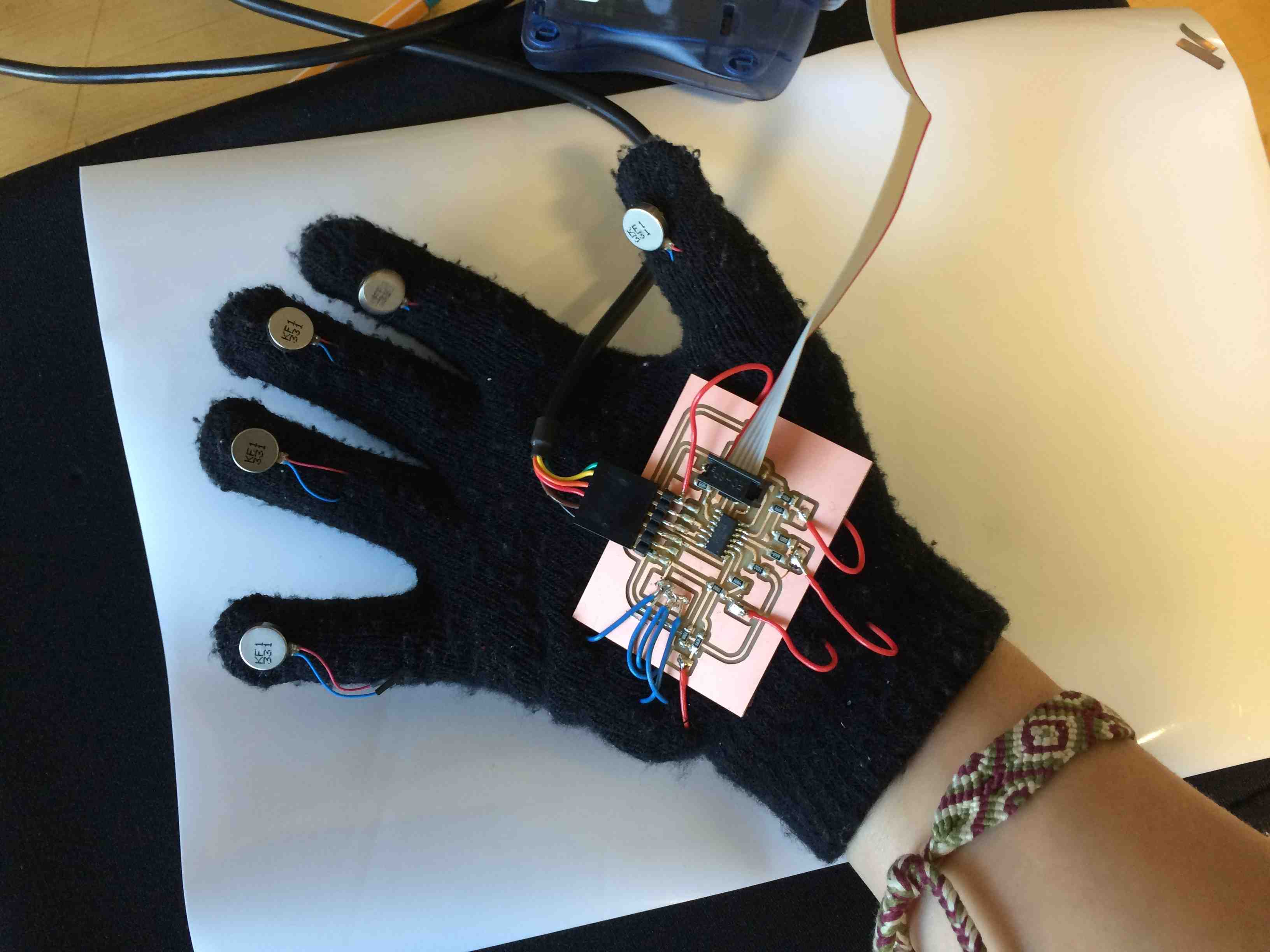Picture of Radiation-Sensitive Glove