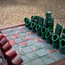 PVC Pipe Chess Set