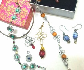Wire Wrapped Jewelry With Copycat Wigjig