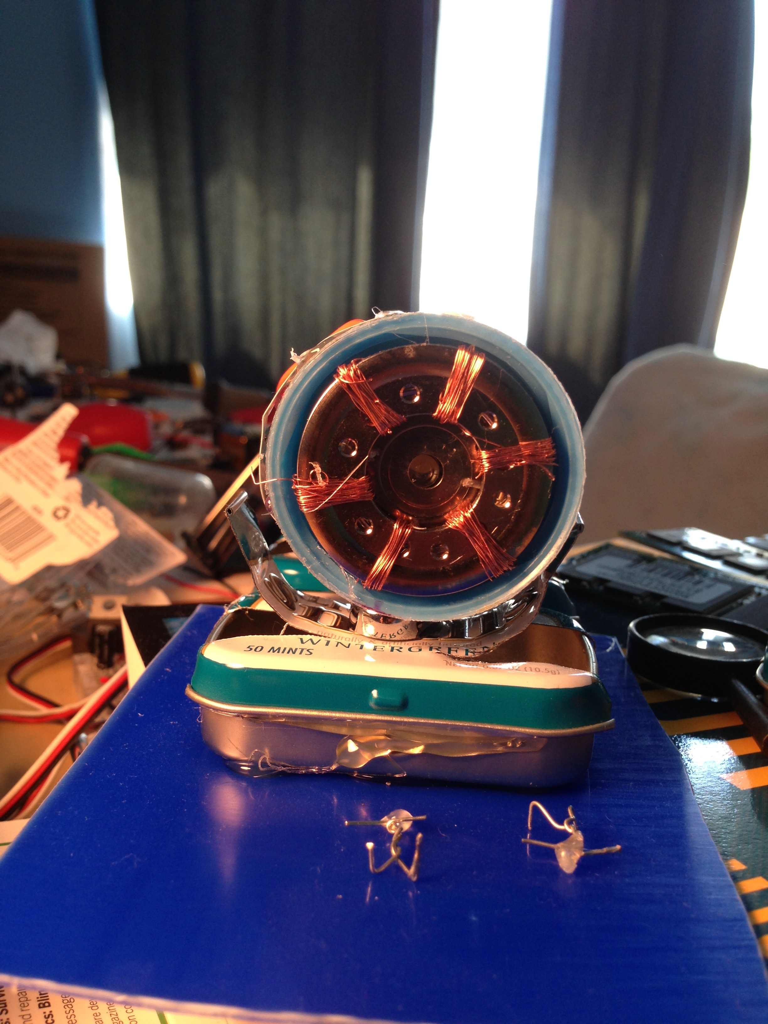 Picture of Micro Hadron Collider: a Miniature Model Particle Accelerator Made From Trash