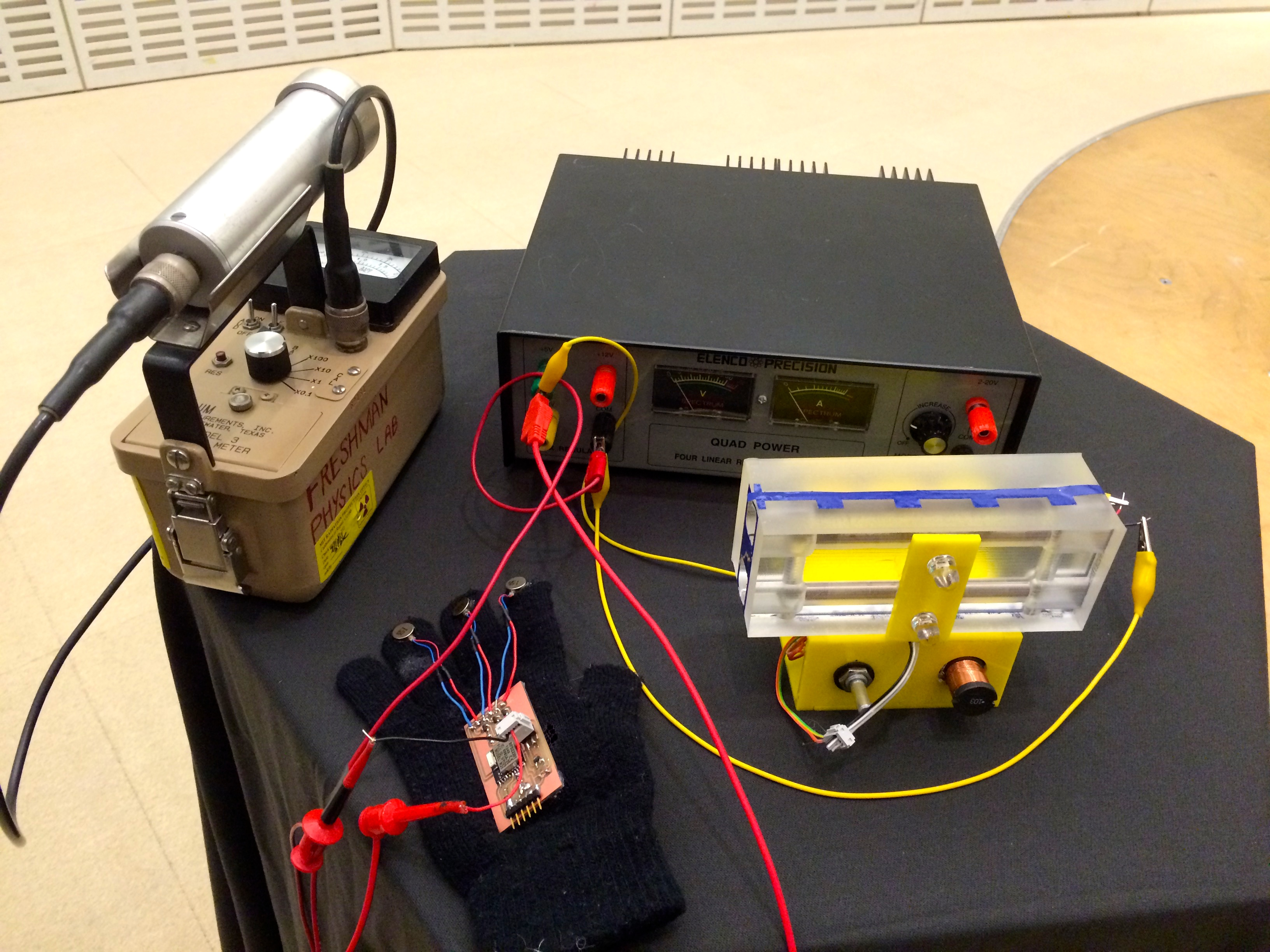 Picture of Networked Radiation Detector: Feel Cosmic Rays on Your Fingertips