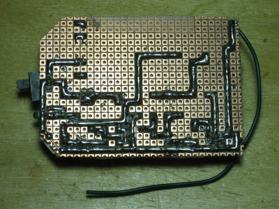 Soldering the Traces