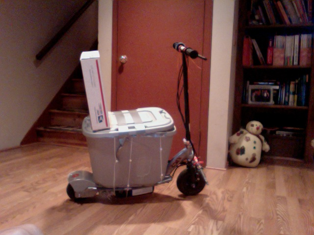 "Picture of Homemade ""cooler Scooter"""