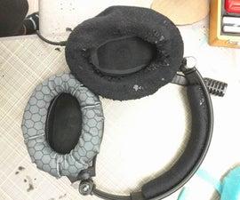 Sennheiser PC350 Headset Ear Piece Recovering