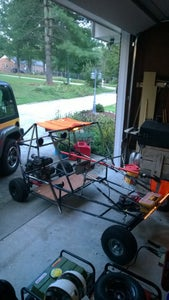 Homemade Go Kart/Dune Buggy