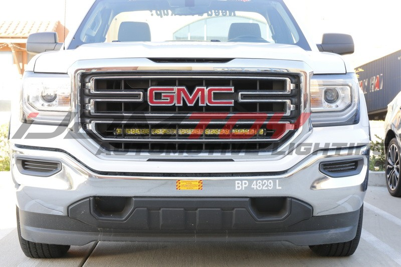 How to install 2014 up gmc 1500 behind grill led light bar 9 steps picture of how to install 2014 up gmc 1500 behind grill led light bar aloadofball Choice Image