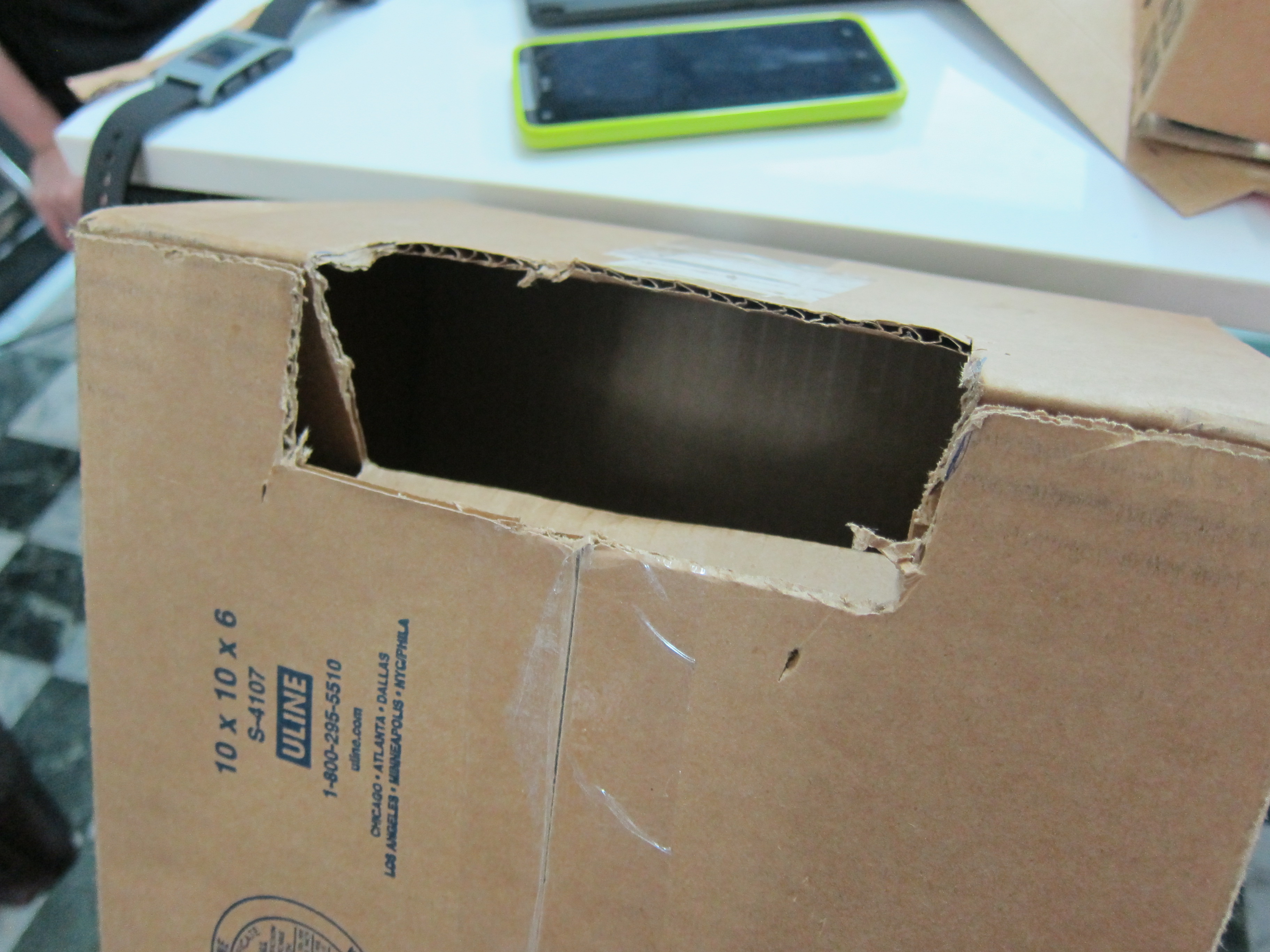 Picture of Preparing the Main Box