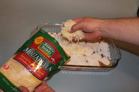 Add a Layer of Mozzarella Cheese