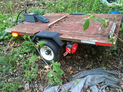 Second Test, My Harborfreight Utility Trailer