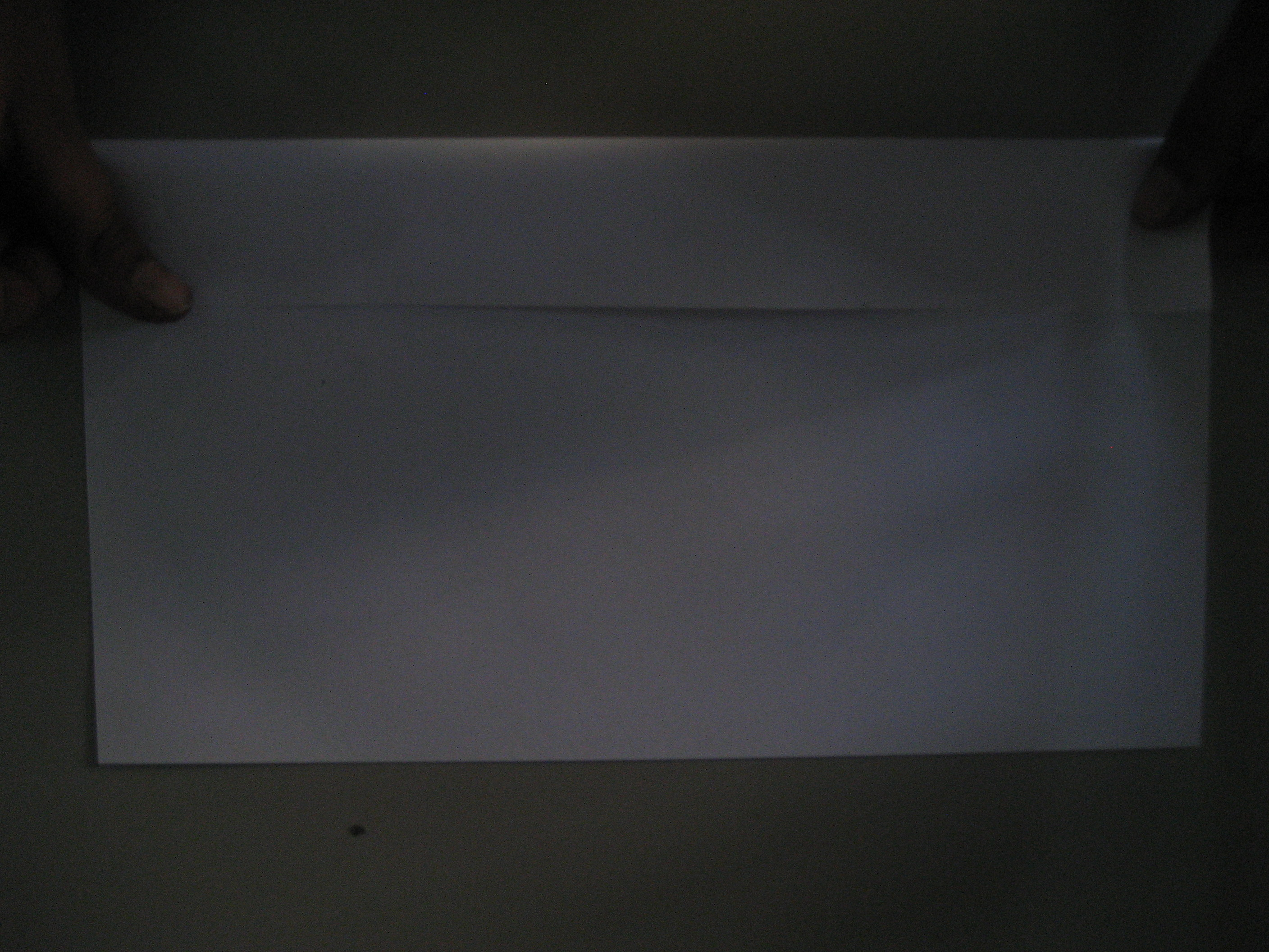 Picture of Hold the Paper Horizontally and Start Folding It Till the End
