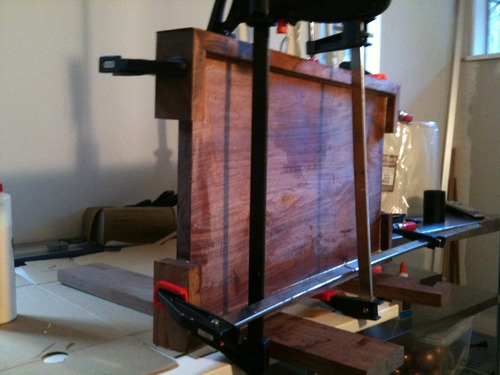 Picture of Dry Fit and Glue Up