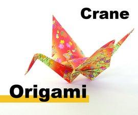 How to origami a crane