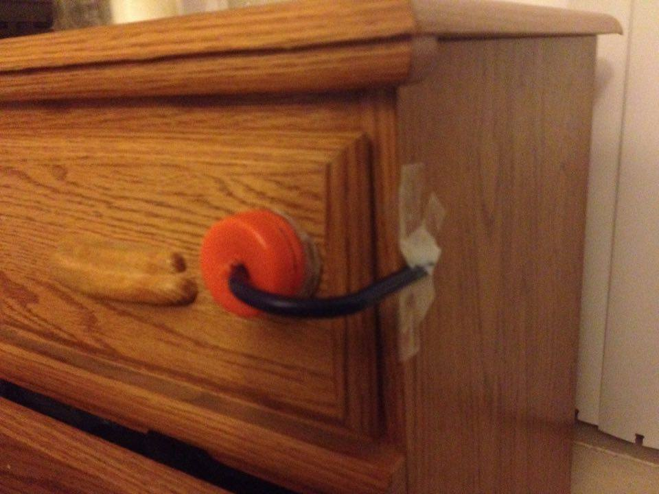 Picture of Drawer Safety Lock