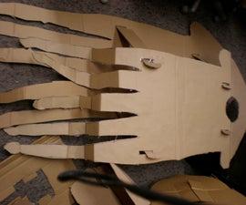 Flat Pack Cardboard Costume: Sammy the Squid