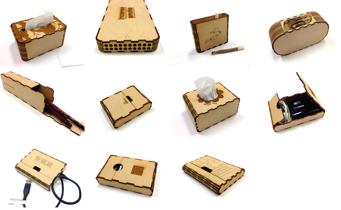 Picture of [CuttingBoxTool] -How to Make a Box of Various Sizes-