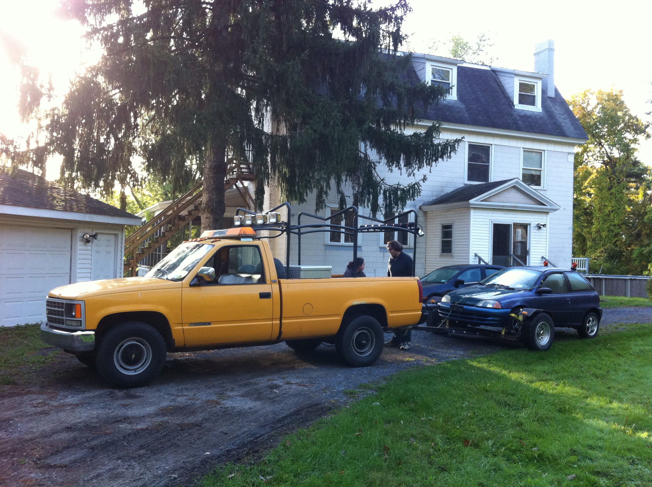Picture of Towing Cars