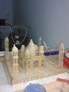 The Final Assembling of Taj Mahal