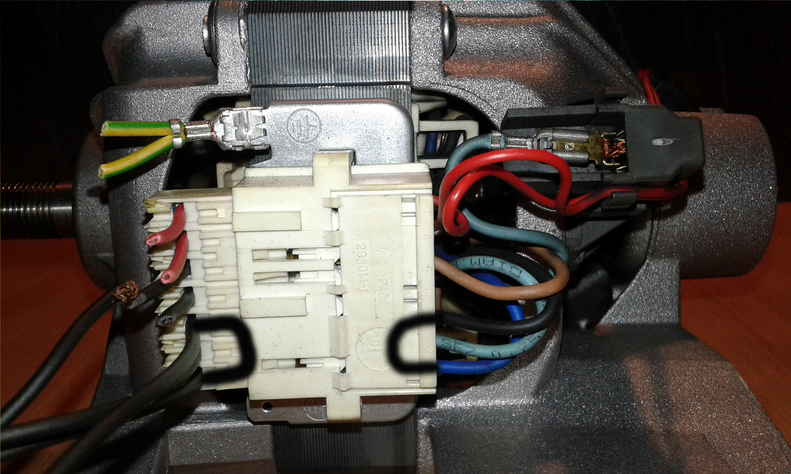 Picture of How to Wire Universal Motor
