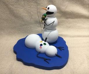 The Calvin and Hobbes Snowmen