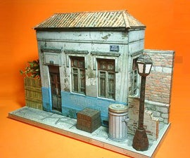 Brazilian Abandoned House Paper Model
