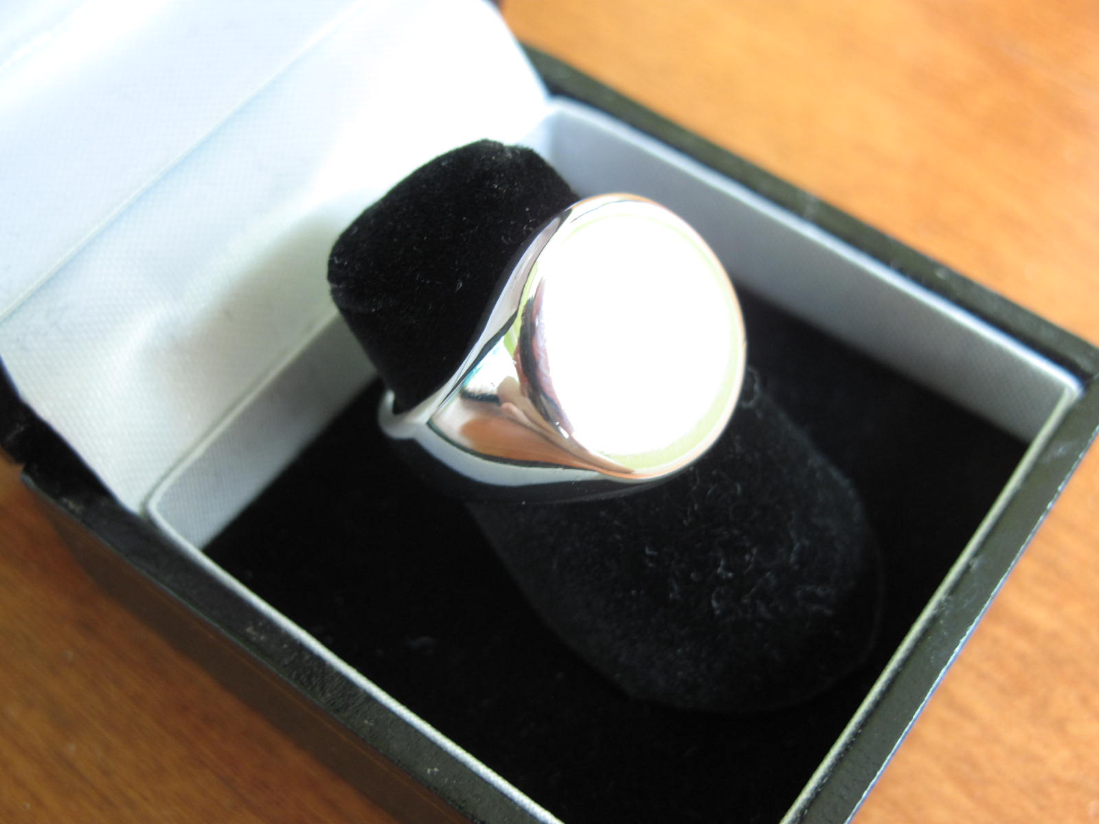 Picture of How to Cast and Polish a Pewter Signet Ring