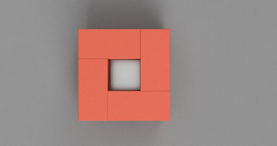Arrange 4 Bricks As Below on Top of Previous Bricks
