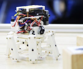 Xpider Fatty -- the Smallest Smart Robot Spider in the World