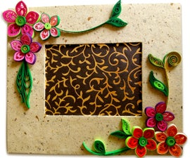 How To Make Beautiful Quilling Photo Frame   Easy Craft Ideas