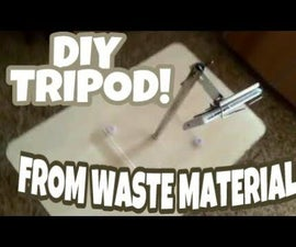 How to Make a DIY Tripod Using Waste Materials?