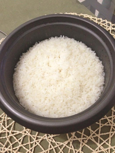 After 15 Minutes the Rice Is Finished.