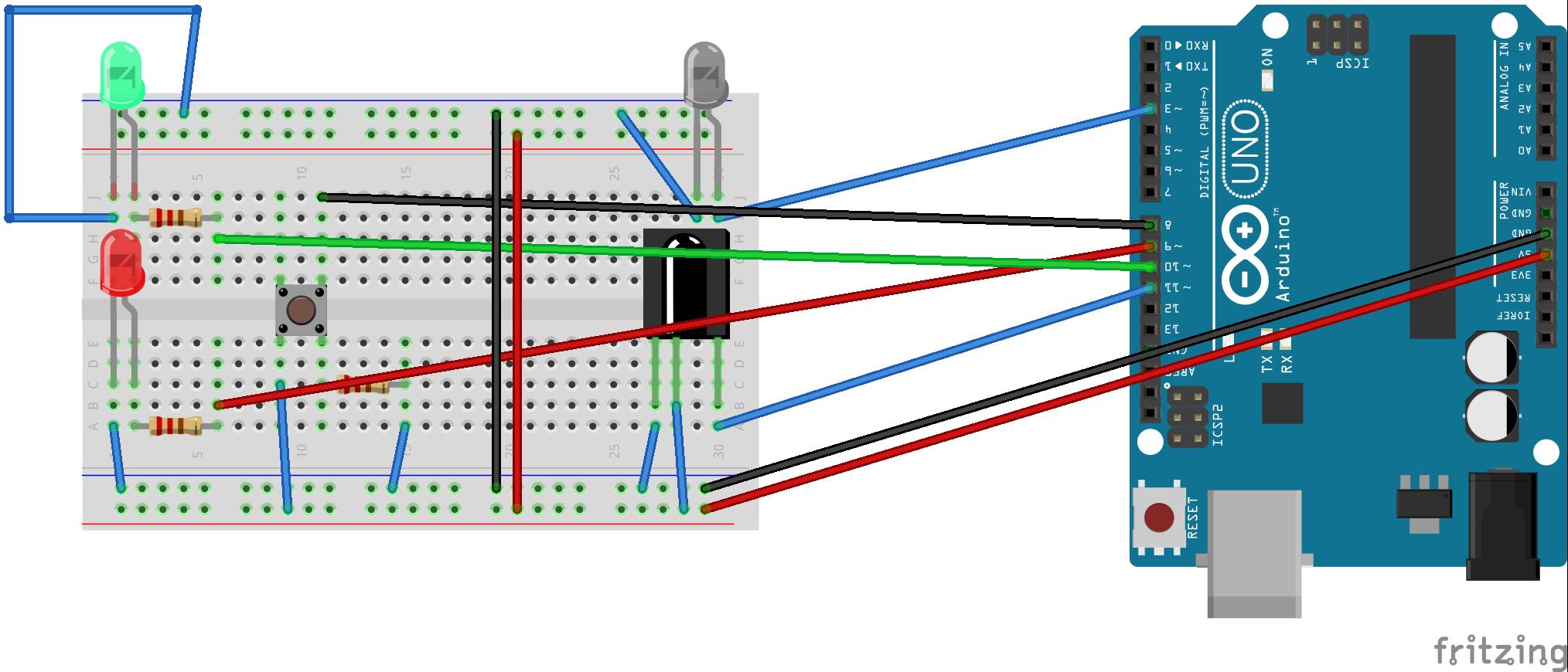 Picture of Arduino-Based IR Translator (SONY)