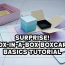 SURPRISE! Box-in-a-box Explosion Box Card