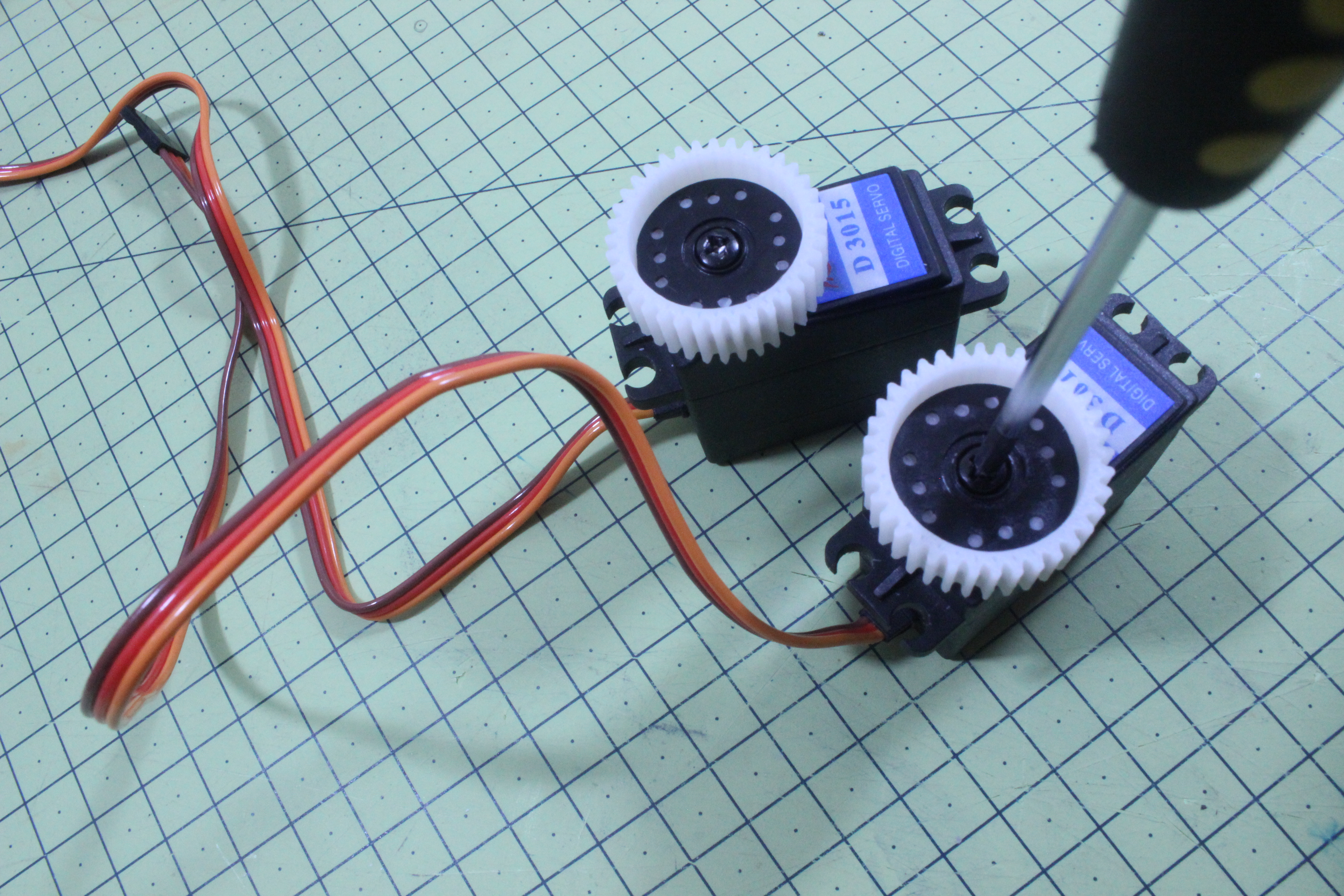 Picture of Servo Assembly