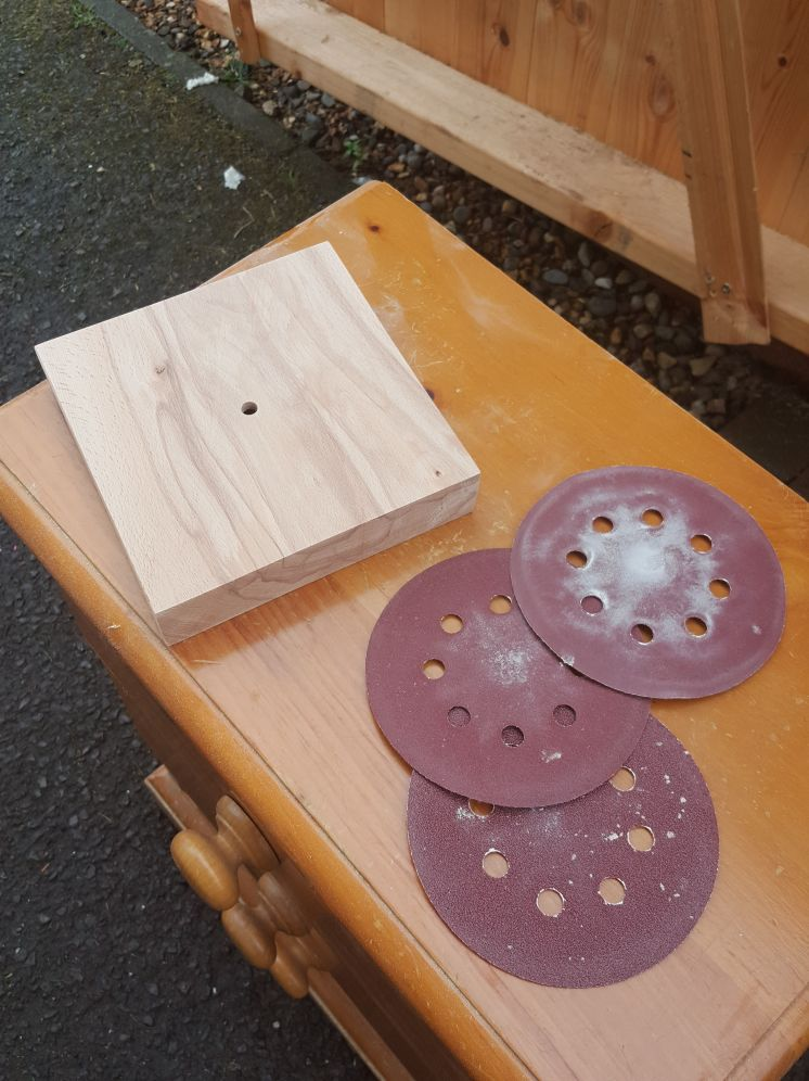Picture of Chamfer and Sanding